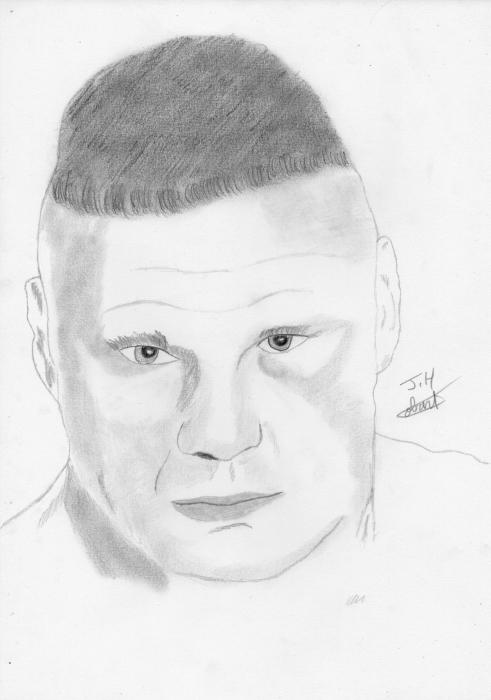Brock Lesnar by Fantomas